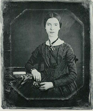 Black-white photograph of Emily Dickinson2