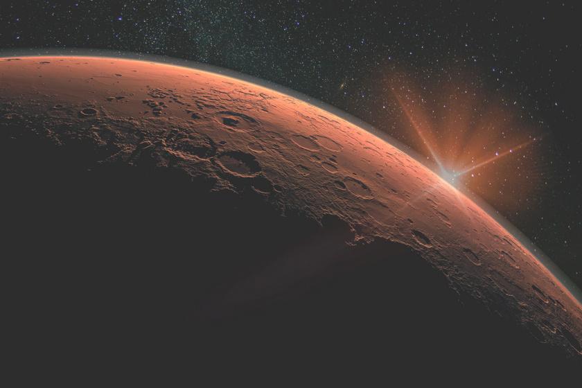 Különös helyen találtak vizet a Marson - Már vizsgálják a NASA kutatói