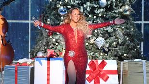 Még mindig szép pénzt hoz Mariah Careynek az idén 25 éve megjelent All I Want For Christmas