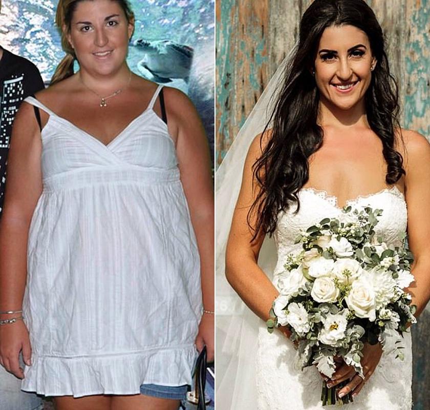 Kylie kitartásának és alacsony szénhidrát- és cukortartalmú diétájának hála több mint ötven kilótól szabadult meg, miközben a szerelem is rátalált. Párjának 55 kilósan mondta ki a boldogító igent.