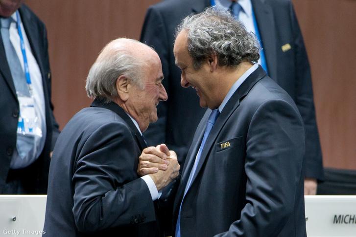 Blatter és Platini 2015-ben