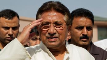 Halálra ítélték Pervez Mussaraf volt pakisztáni elnököt