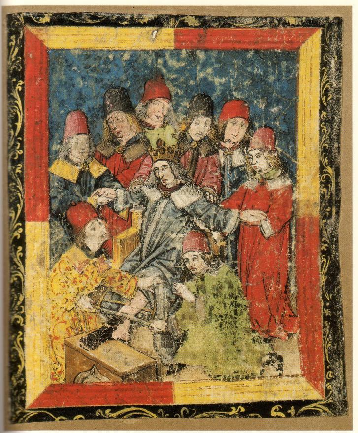 III. Frigyes lábának amputálása (ismeretlen festő)