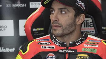 Szteroiddal bukott meg a MotoGP-pilóta