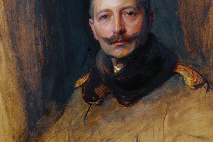 László Fülöp: II. Vilmos német császár, porosz király, 1908