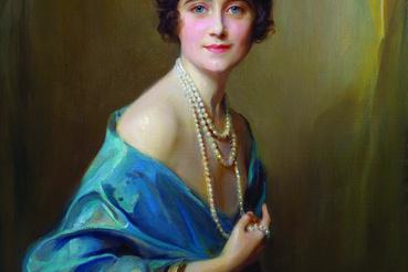 László Fülöp: Yorki hercegné, Lady Elizabeth Angela Marguerite Bowes Lyon, a későbbi Erzsébet anyakirályné, 1925