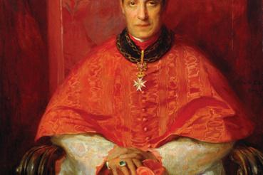 László Fülöp: Mariano Rampolla bíboros, Tindaro grófja, 1900