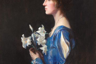 László Fülöp: Lady Alastair Graham, született Lady Meriel Olivia Bathurst, 1925