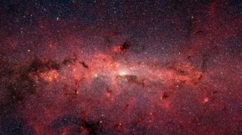 Két hullámban zajlott a csillagképződés a Tejútrendszer közepén