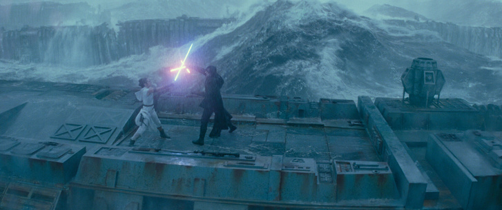 Jelenet a Star Wars - Skywalker kora című filmből