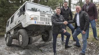 A Magna-Steyr is beszáll a szuper-terepjáró fejlesztésébe