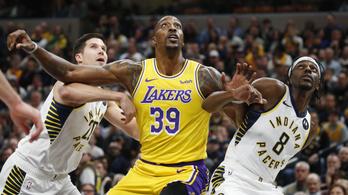 Megszakadt a Lakers 14 meccses győzelmi sorozata