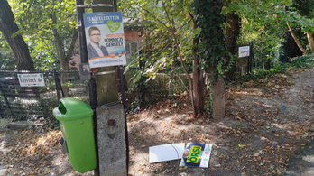 Ötmillióért tüntetik el a Budapesten kint maradt választási plakátokat