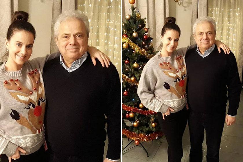 Rózsa György mindig is leánygyermekre vágyott. A 36 éves Csilla a legendás műsorvezető büszkesége.