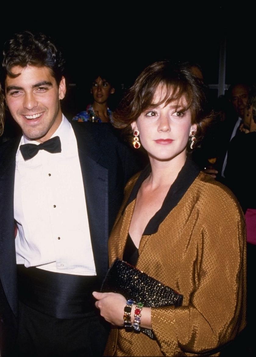George Clooney és Talia Balsam 1989-től 1992-ig éltek házasságban.