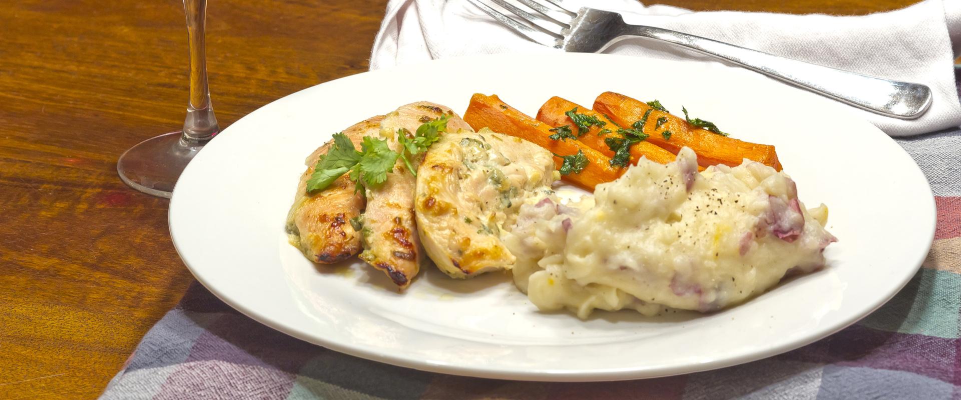 görög joghurtba pácolt csirke