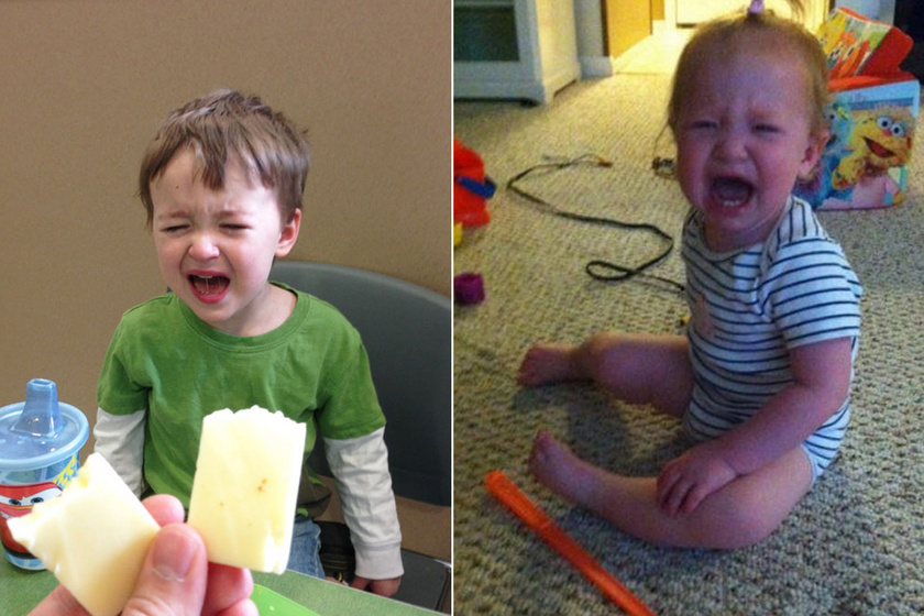 Ami a gyerekeknél benyomta a hisztigombot: például, mert nem ehette meg a légycsapót