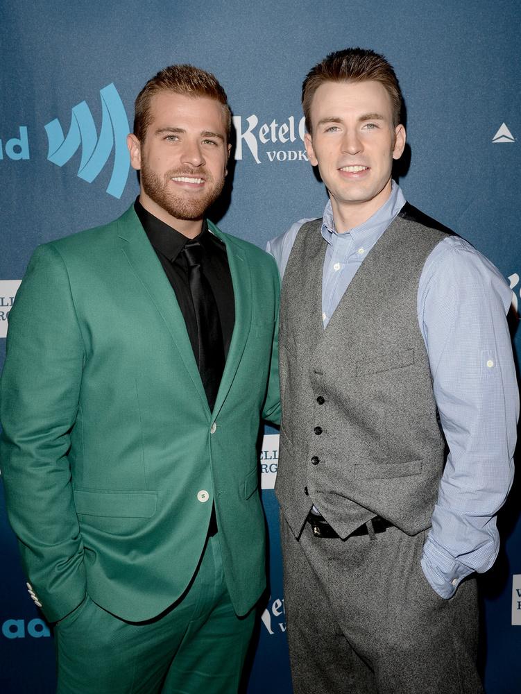 Chris és Scott Evans le sem tudná tagadni egymást