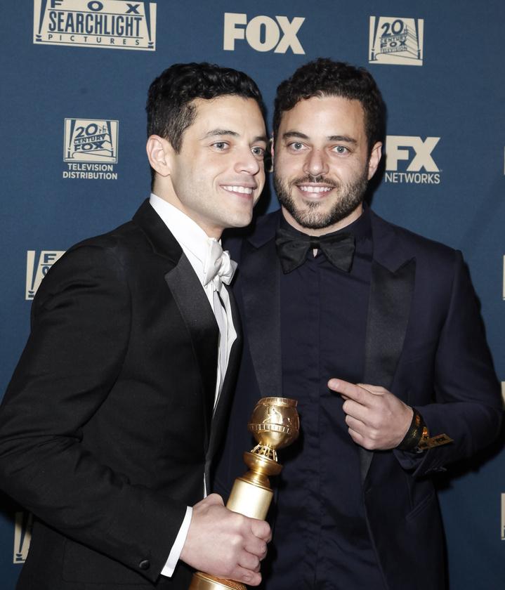 Rami Malek ikertestvérének kilétét egy ideig titok övezte