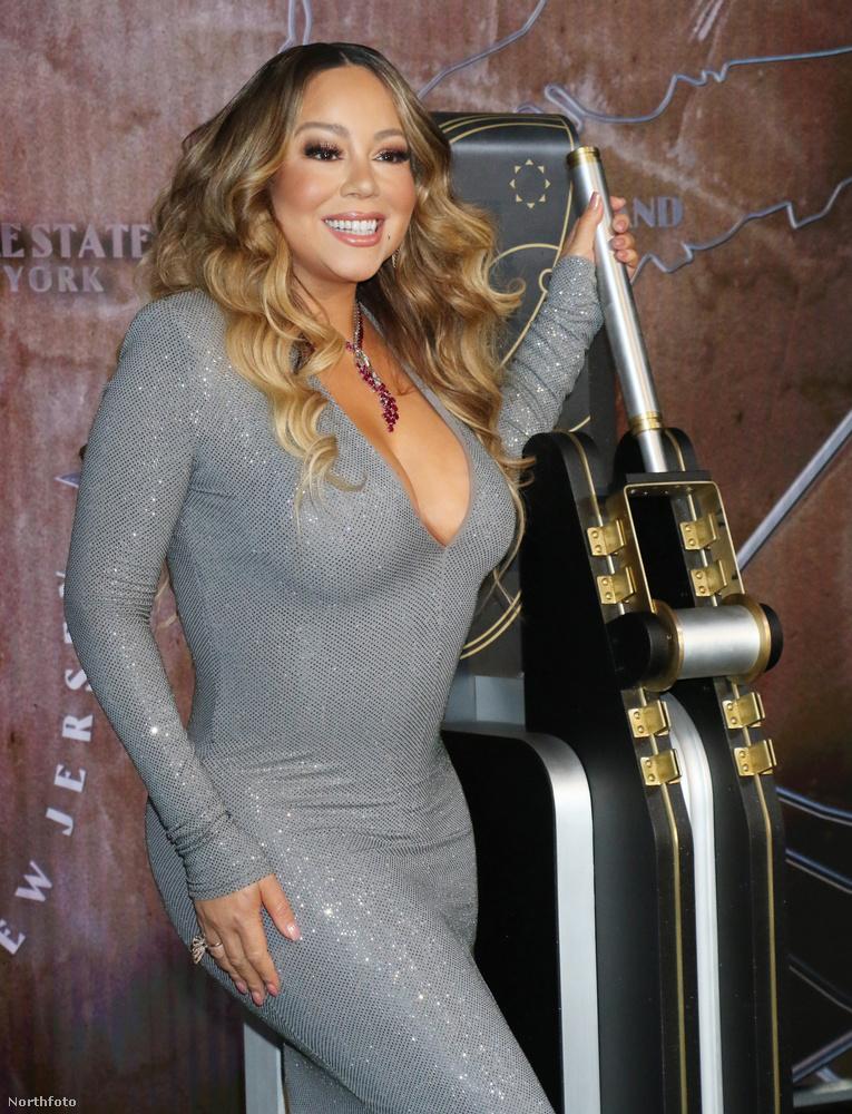 A karácsonyi díszkivilágítást felkapcsoló karnál állva Mariah Carey talán arra gondol, hogy az AIWFCIY jelenleg minden idők 12
