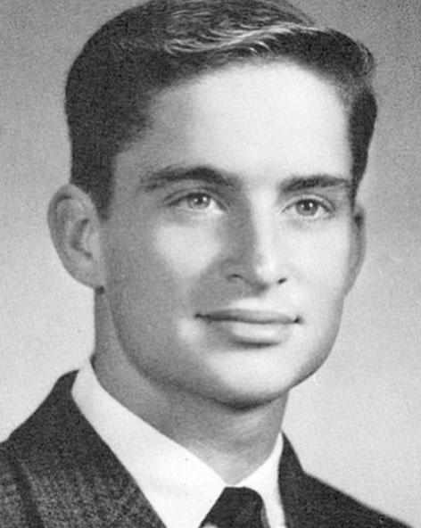 Michael Douglasnek ez volt 1963 tavaszán a középiskolai tablóképe.