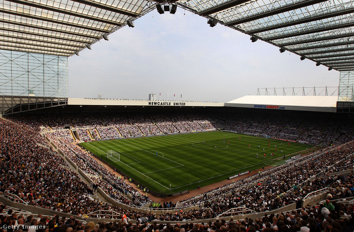 A Newcastle stadionja