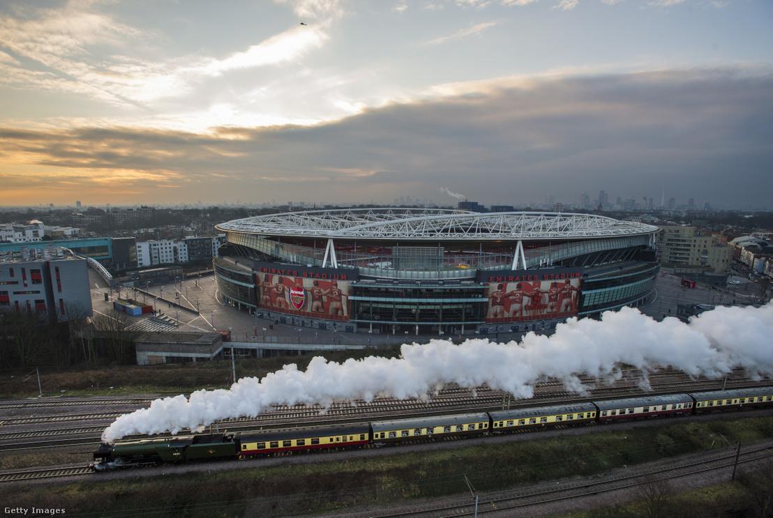 Az Emirates stadion Londonban