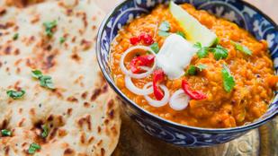 Imádod a fűszeres és egzotikus ételeket? Készíts indiai lencsecurryt újévre!