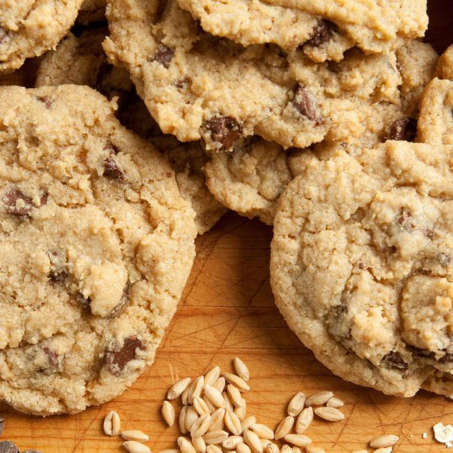 Rostban gazdag csokichipses keksz – A teljes kiőrlésű liszt jót tesz az emésztésnek
