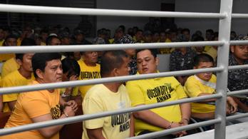 Súlyos börtönbüntetésre ítélték 2009-es Fülöp-szigeteki tömegmészárlás elkövetőit