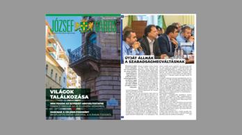 A józsefvárosi kerületi lap 2. száma nagyot lépett a kiegyensúlyozottság felé