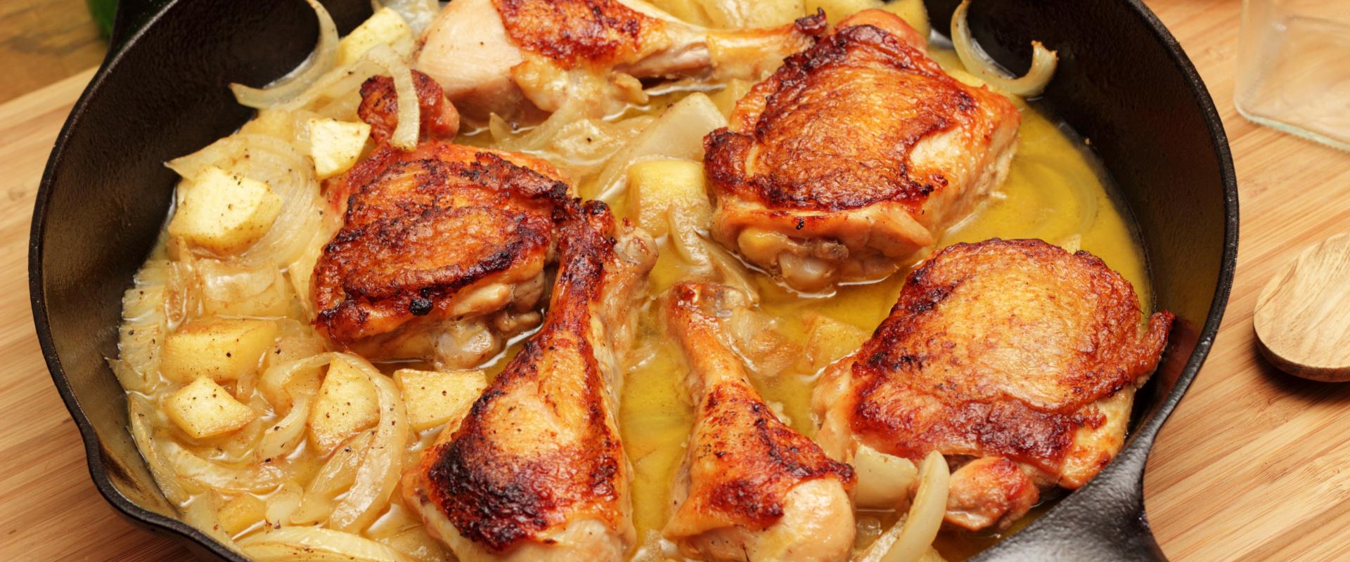 Ciderben pácolt csirkecomb