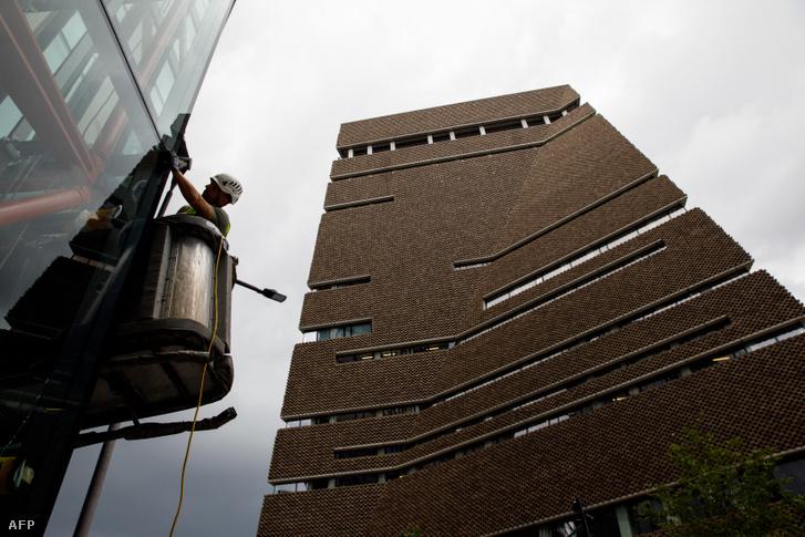 A Tate Modern múzeum terasza