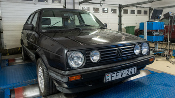 Totalcar Erőmérő: Volkswagen Golf II 1.8