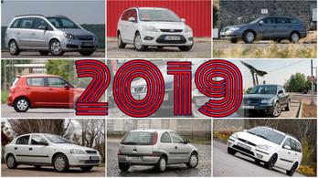 Ilyen autókat vettek a magyarok 2019-ben