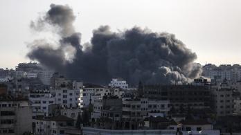 A Hamász bázisait támadta az izraeli hadsereg