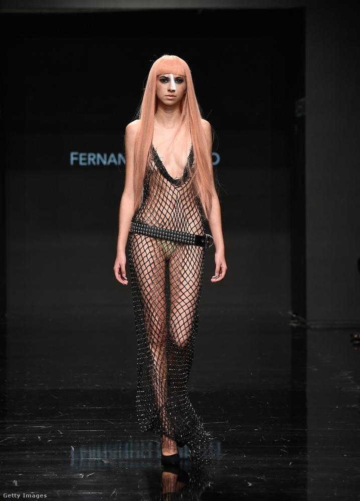 Fernando Alberto divattervező a Los Angeles-i Art Hearts Fashion Weeken mutatta be új öltözködési ötleteit