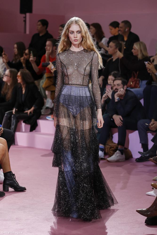 Ralph Russo divattervező is keverte a merészséget és az eleganciát.
