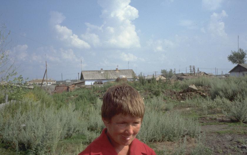 A cseljabinszki régió egy lakója, aki sokakhoz hasonlóan rákos lett.