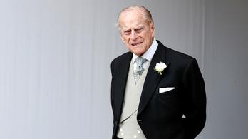 Kórházba került Fülöp herceg