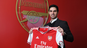 Kivásárolták Artetát a Citytől, ő az Arsenal edzője