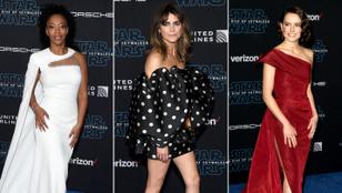 Ez mind szép és jó, de hogy néznek ki a Star Wars főszereplőnői a vörösszőnyegen?