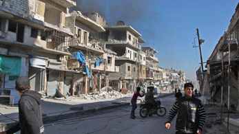 Száznál is több halottja van a szíriai légicsapásoknak