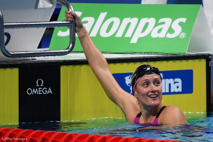 Mireia Belmonte a 2019-es budapesti úszó világkupán