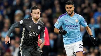 Guardiola legyőzte a Leicestert, de a 3. helyen maradt