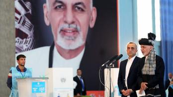 Három hónappal a szavazás után van előzetes eredménye az afgán elnökválasztásnak