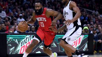 Az NBA szakállas zsenije megállíthatatlan, megint 47 pontot dobott