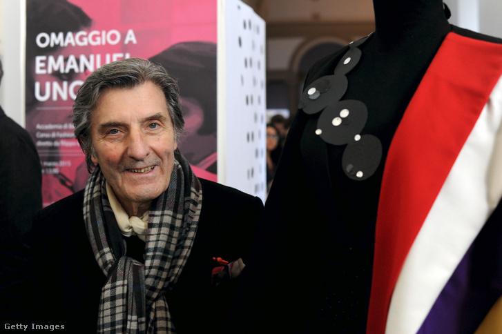 Emanuel Ungaro 2015-ben, Milánóban.