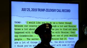 NBC: Email bizonyítja, hogy Trump visszatartotta a segélyt Ukrajnától