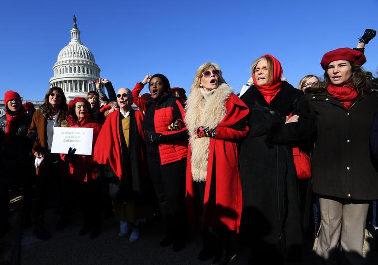 Nagyon nem: Washingtonban tartottak klímatüntetést